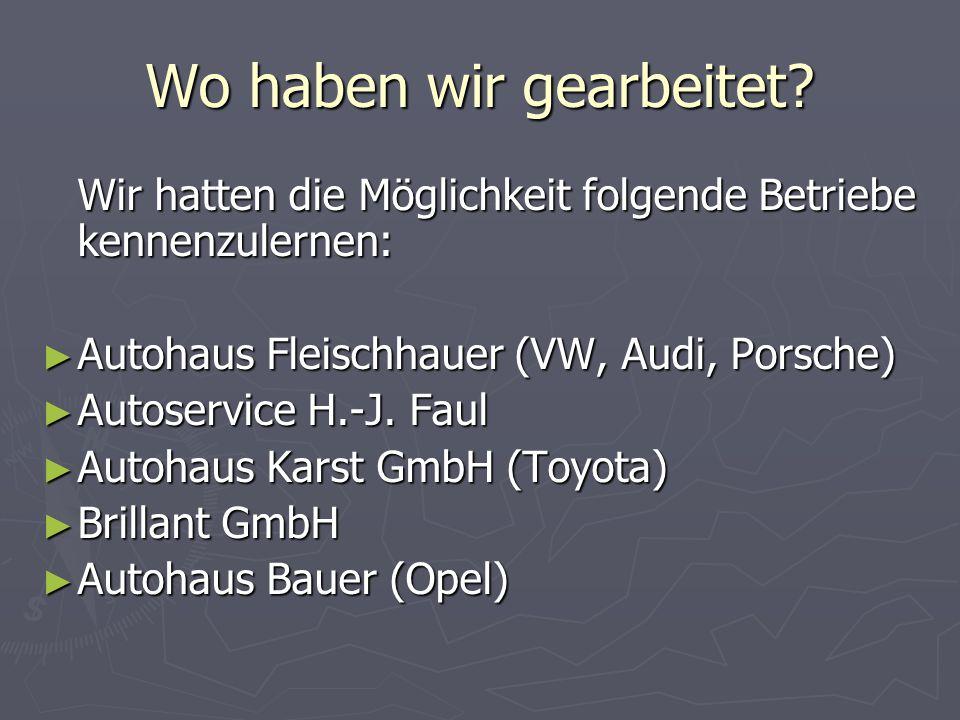 Los gehts! ► Treffen mit Herr Fuchs und Frau Regnery von der Handwerkskammer zu Köln ► Erstmal Einzelheiten besprechen ► Alles klar? Auf ging´s zu den