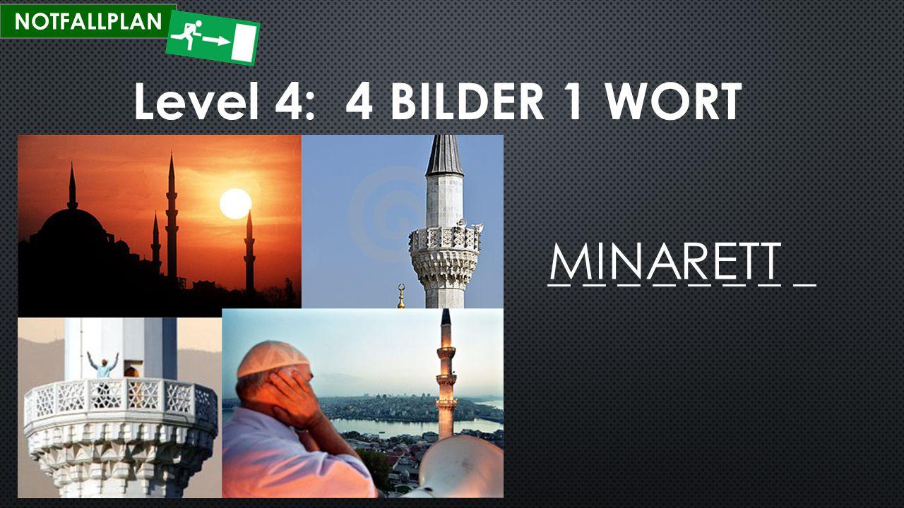 NOTFALLPLAN Level 4: 4 BILDER 1 WORT SPONGEBOB _ _ _ _ _ _ _ _ _