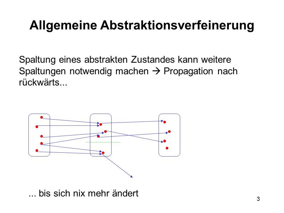 14 Theorembeweiser Eingabe: prädikatenlog.Formel, nicht immer Stufe 1 1.