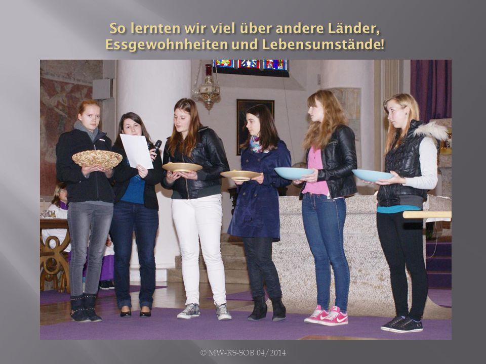 Das Segensgebet der diesjährigen MISEREOR-Fastenaktion begleitete uns durch die Fastenaktion, die im Fastengottesdienst vor Ostern ihren Höhepunkt fand.