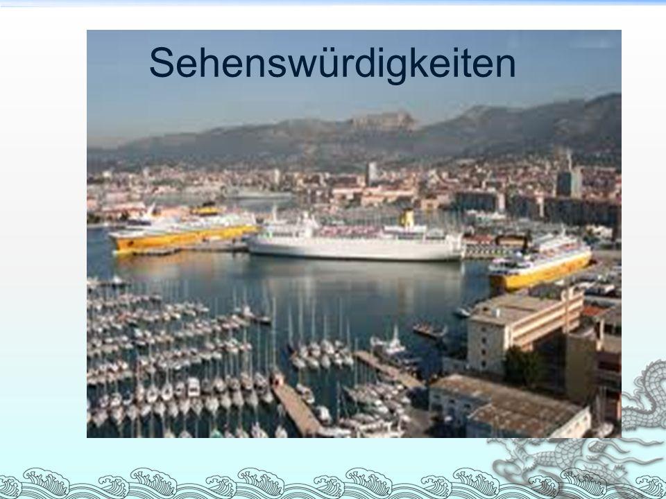 Toulon liegt im Südosten Frankreichs in der Region PACA, die Stadt befindet sich neben Marseille, am Meer.