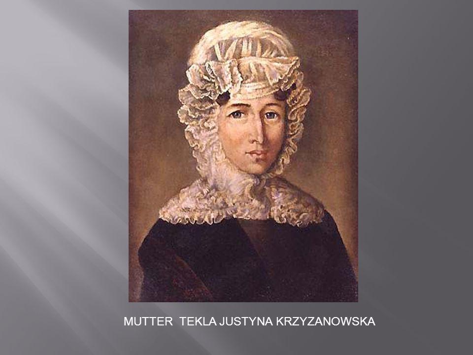 DER AUFSTAND DES POLNISCHEN VOLKES 1830 GEGEN DIE RUSSISCHE UNTERDRÜCKUNG VERÄNDERTE SEIN LEBEN AUF EINEN SCHLAG.
