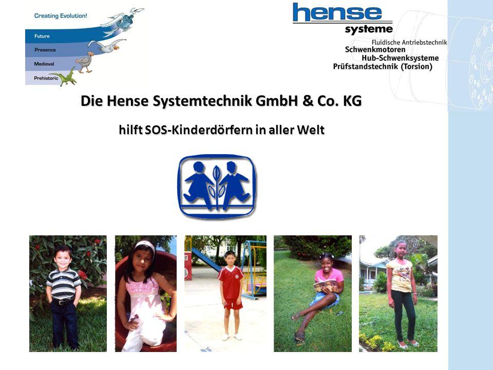 Die Hense Systemtechnik GmbH & Co. KG hilft SOS-Kinderdörfern in aller Welt