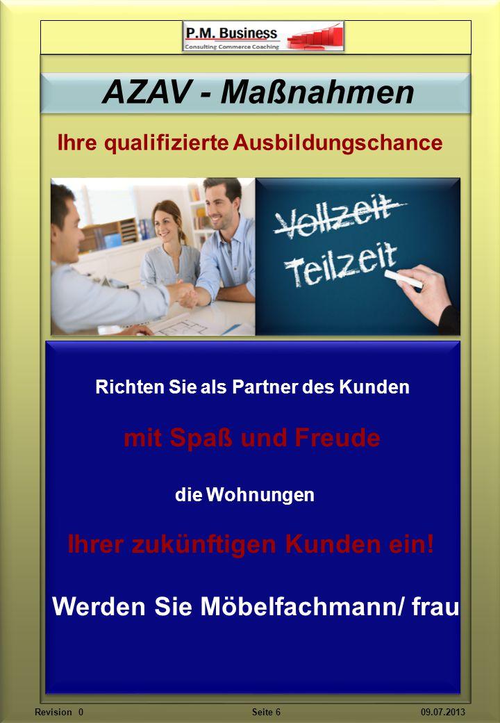 Wir fördern Ihre erörtern Ihre und trainieren Ihr sicheres Auftreten als Verkäufer Revision 0 Seite 17 09.07.2013