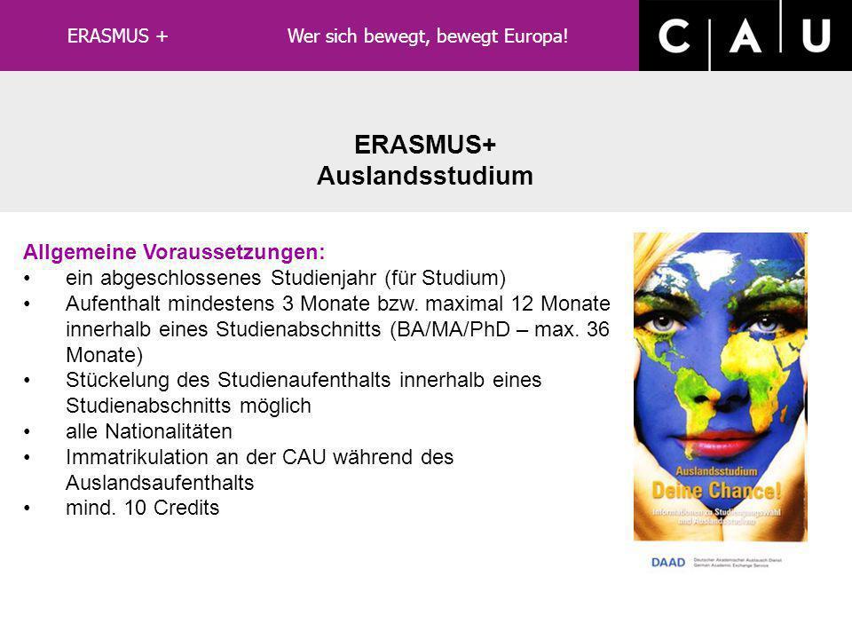 Arbeitsschritte 18 weitere Arbeitsschritte im ERASMUS-Büro: Ausstellung der neuen Verträge Implementierung eines neuen Computer- Programms Vorbereitun