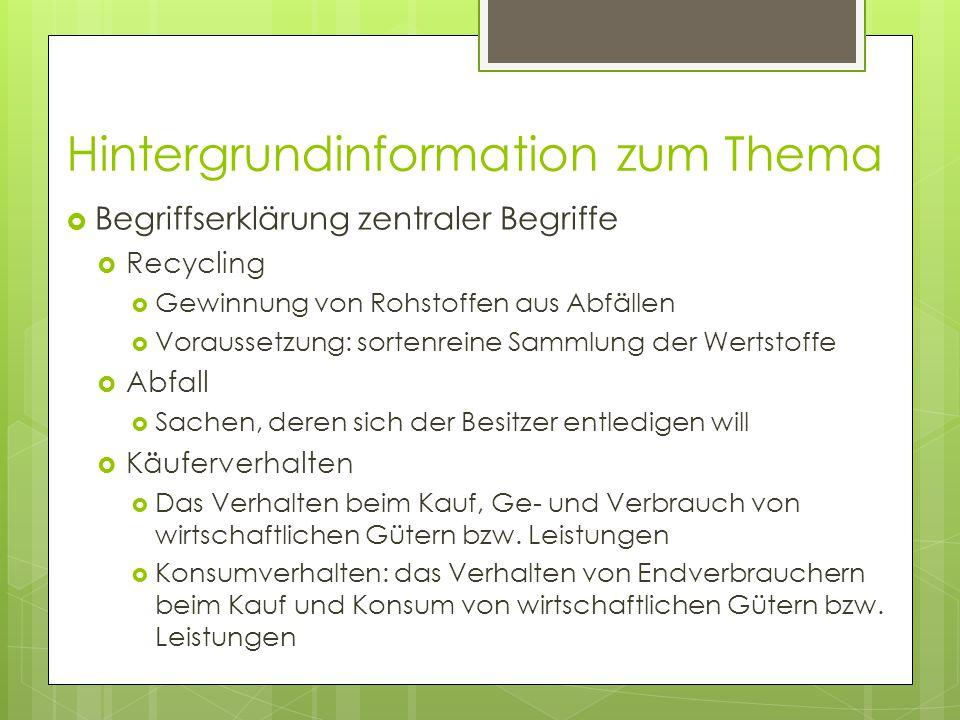 Didaktisierung im Unterricht  Die Umsetzung  1.