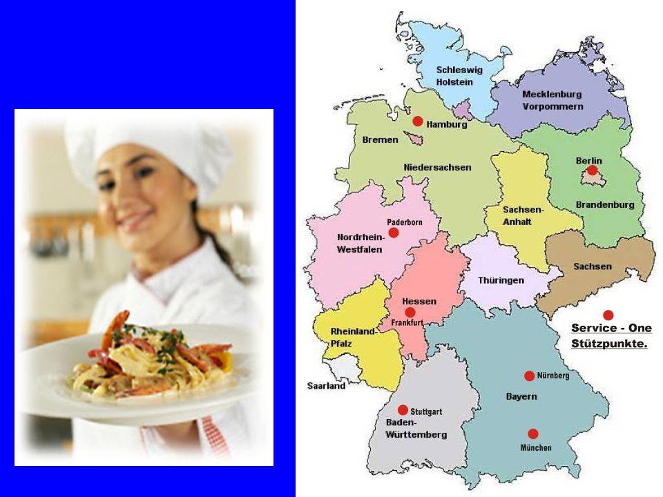 Von Norden nach Süden, von Osten nach Westen – die deutsche Küche ist geprägt durch regionale Vielseitigkeit.