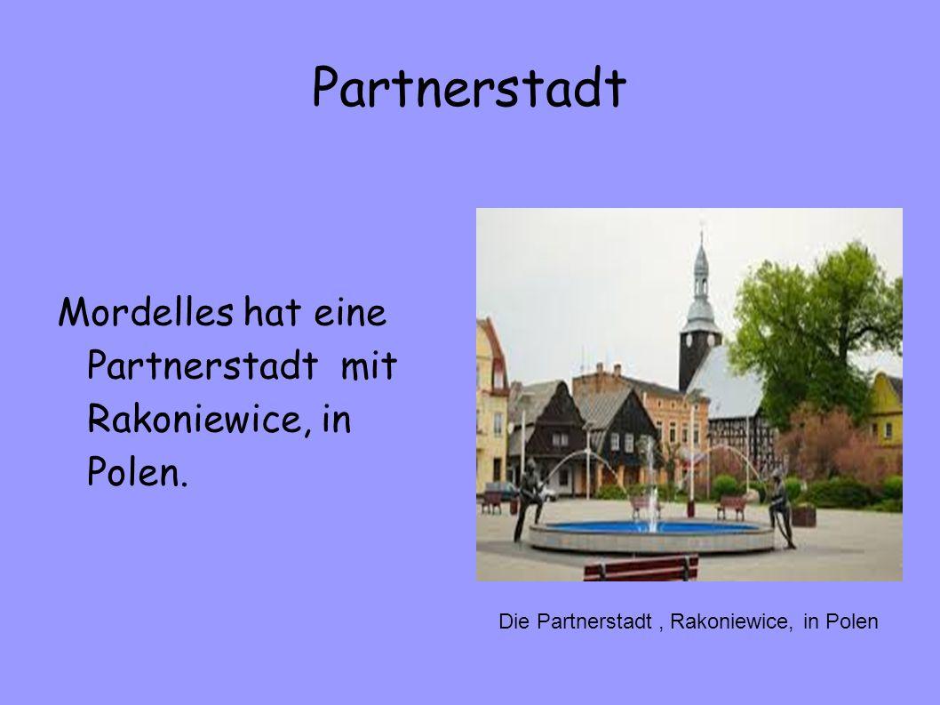 Partnerstadt Mordelles hat eine Partnerstadt mit Rakoniewice, in Polen. Die Partnerstadt, Rakoniewice, in Polen