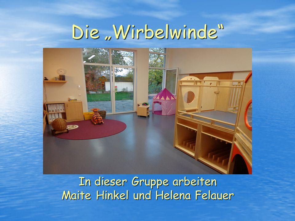 """Die """"Sonnenstrahlen In dieser Gruppe arbeiten Beata Müller, Jennifer Witt und Sigrid Raschke"""