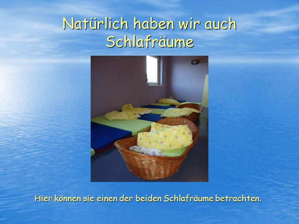 Als nächstes möchten wir ihnen gerne unser Kinderbistro zeigen Dieser Raum steht allen Kinder der Einrichtung zur Verfügung.