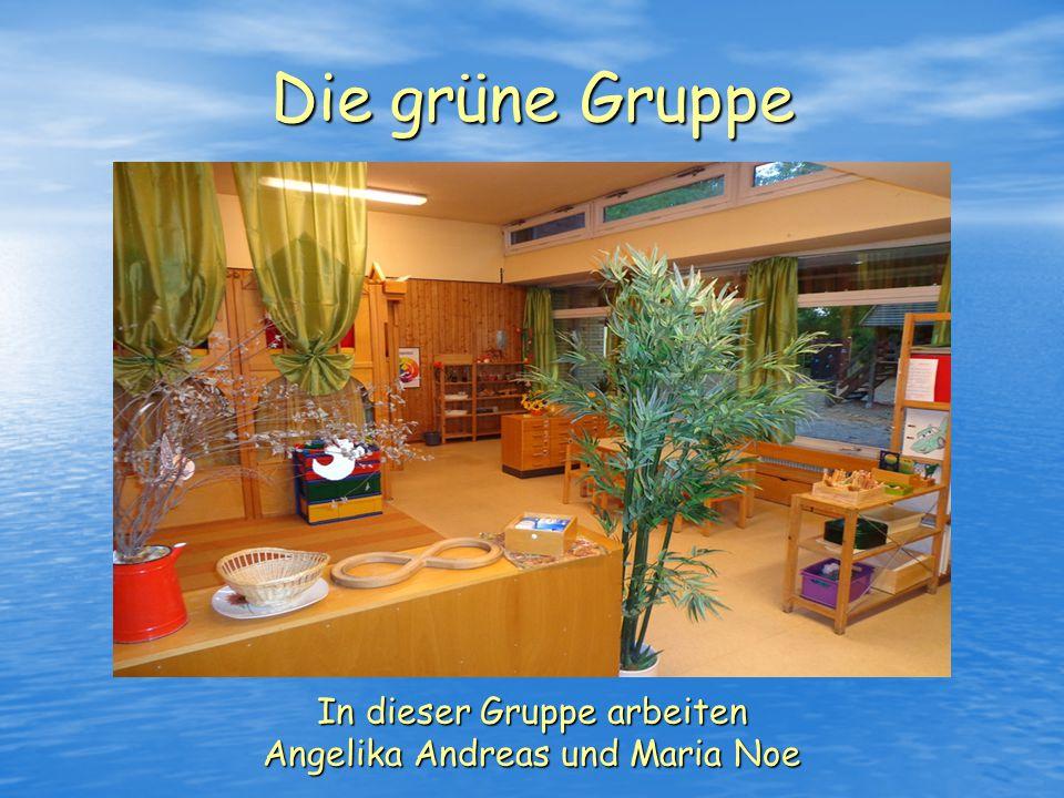 Die gelbe Gruppe In dieser Gruppe arbeiten Ingrid Leps und Walter Herr
