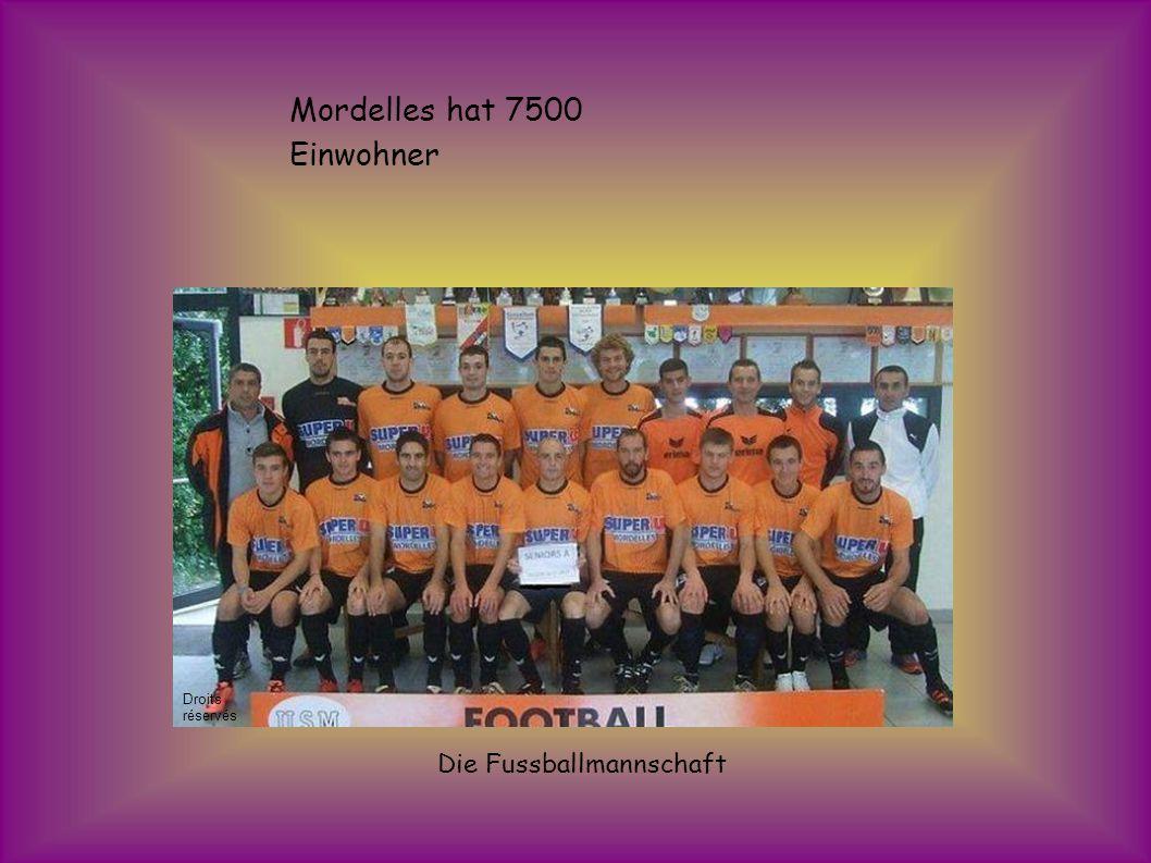 Mordelles hat 7500 Einwohner Die Fussballmannschaft Droits réservés