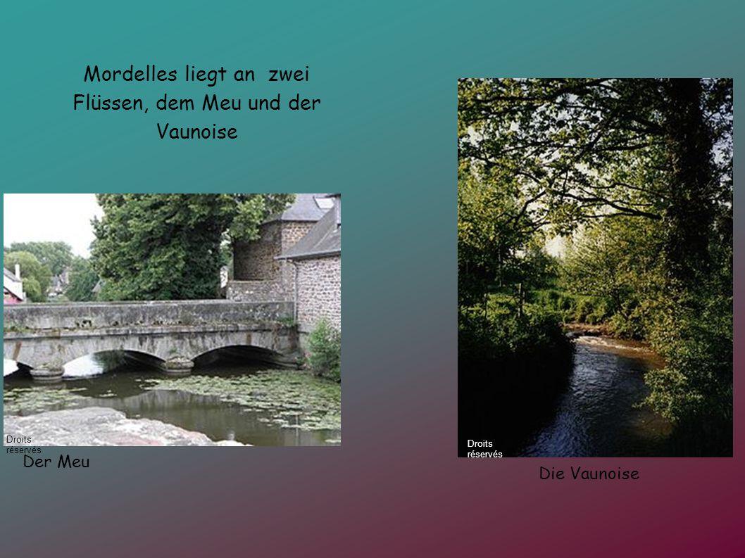 Mordelles liegt an zwei Flüssen, dem Meu und der Vaunoise Der Meu Die Vaunoise Droits réservés