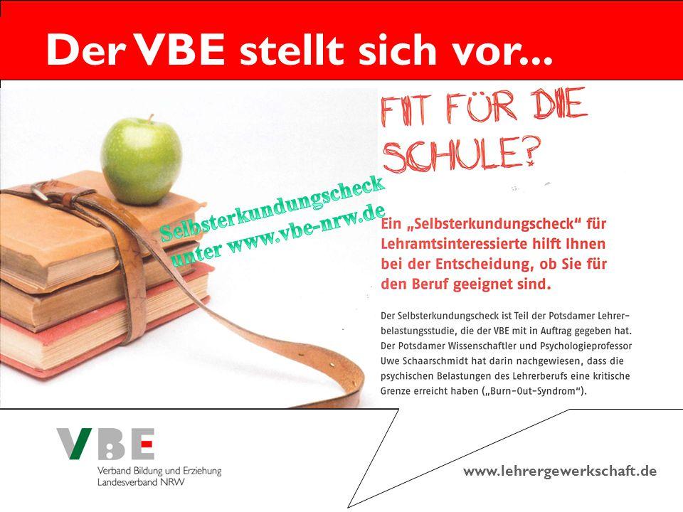 www.lehrergewerkschaft.de Der VBE stellt sich vor...