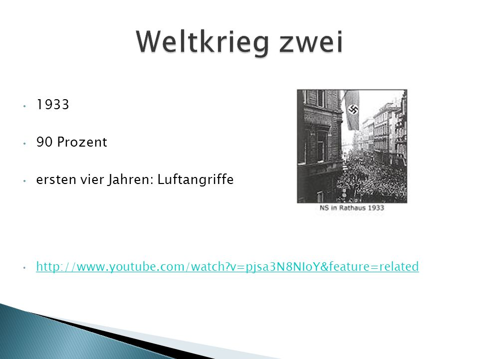 1933 90 Prozent ersten vier Jahren: Luftangriffe http://www.youtube.com/watch?v=pjsa3N8NIoY&feature=related