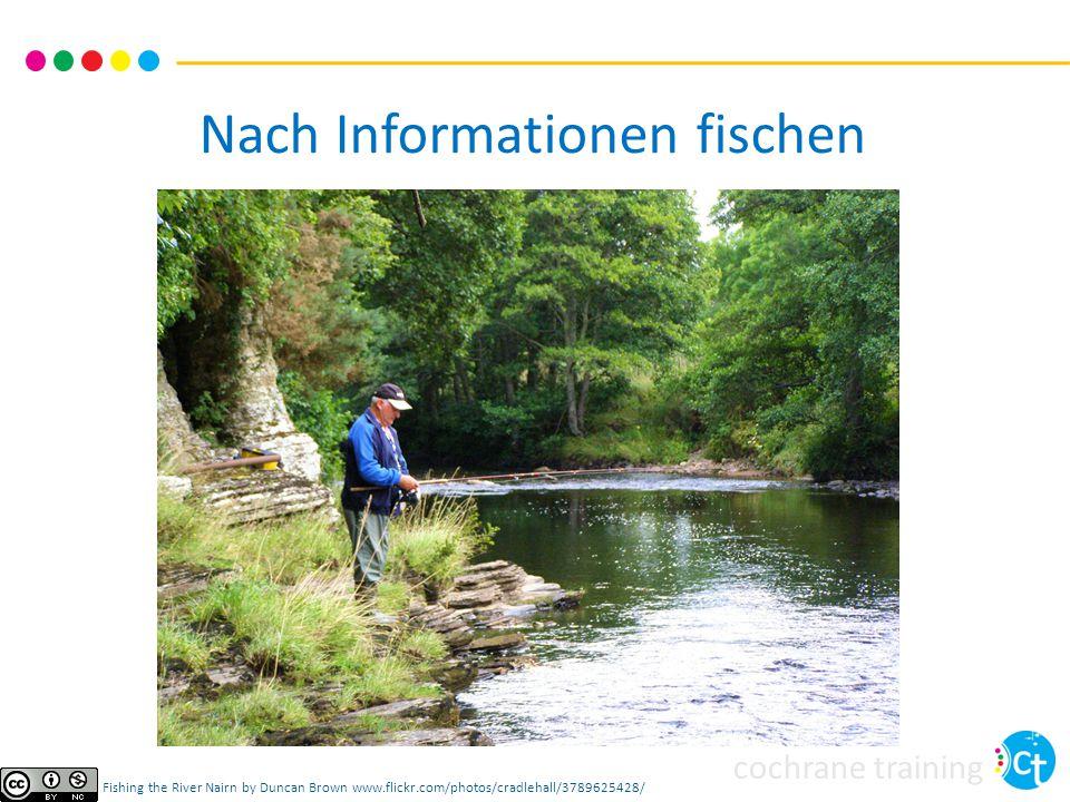 cochrane training Darstellung der Suche im Review Für das Protokoll Methoden: Beschreibung der geplanten Quellen und Einschränkungen Gfs.