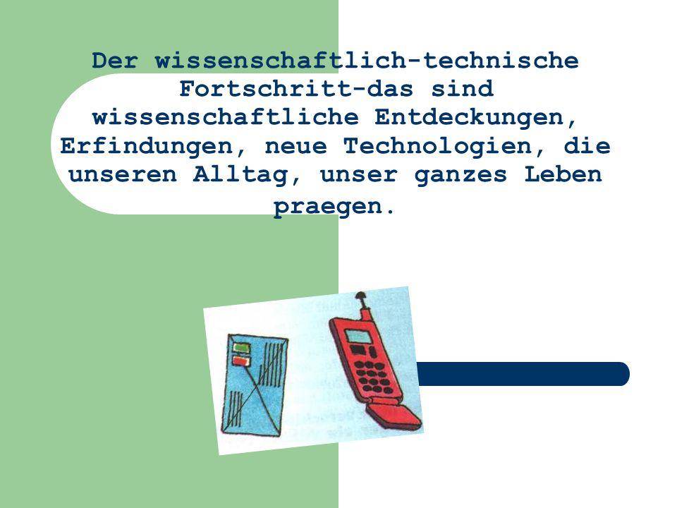 Der wissenschaftlich-technische Fortschritt die Elektrizitaet (18.