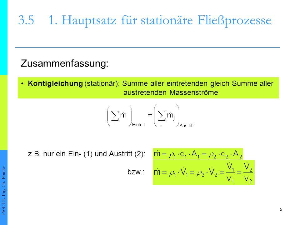 aus der Gasgleichung für ein Massenelement Δm mit dem Volumen ΔV p·ΔV=Δm·R·T bezogen aufs Zeitintervall : 6 3.51.
