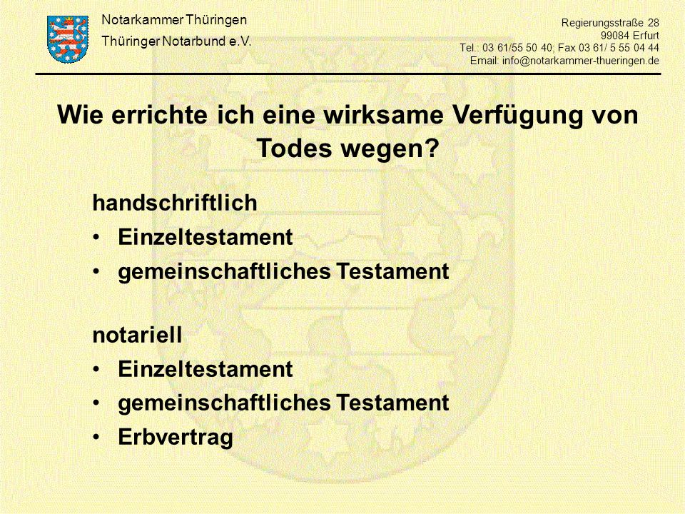 Thüringer Notarbund e.V.