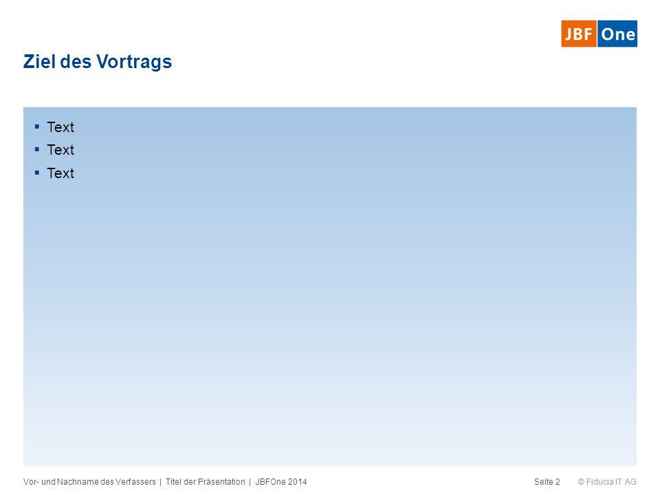 © Fiducia IT AG Liniendiagramm Vor- und Nachname des Verfassers   Titel der Präsentation   JBFOne 2014Seite 23 Quelle: Fiducia IT AG Untertitel [Einheit]