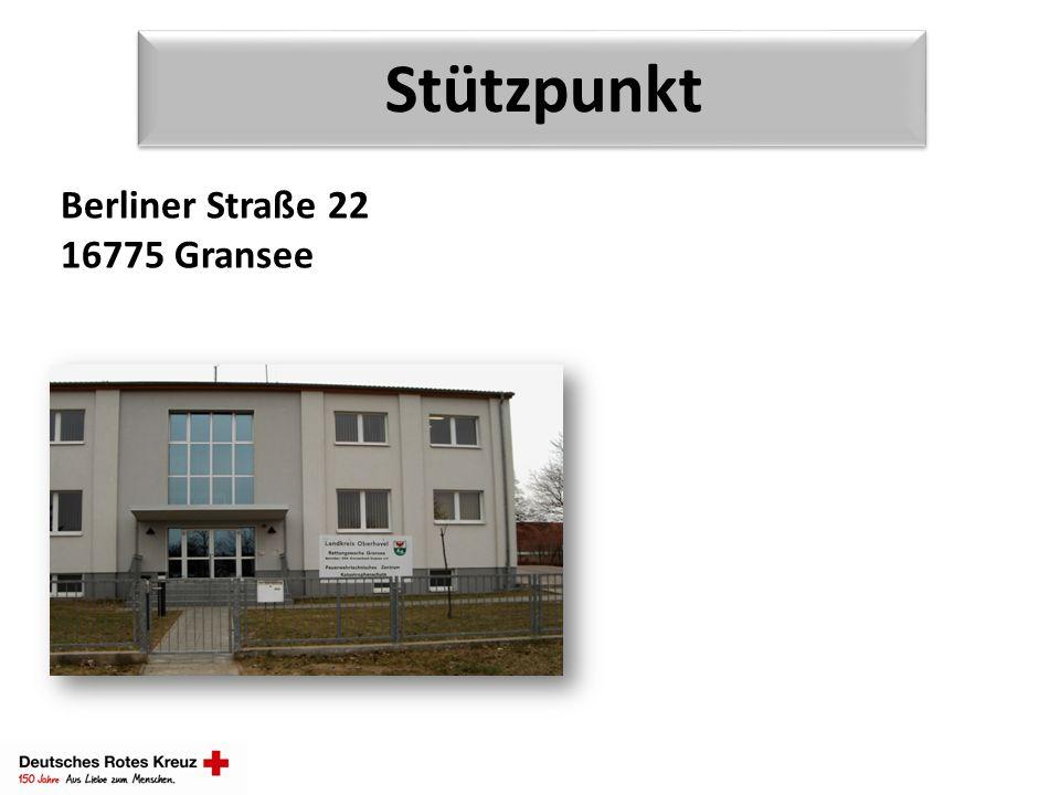 Stützpunkt Berliner Straße 22 16775 Gransee