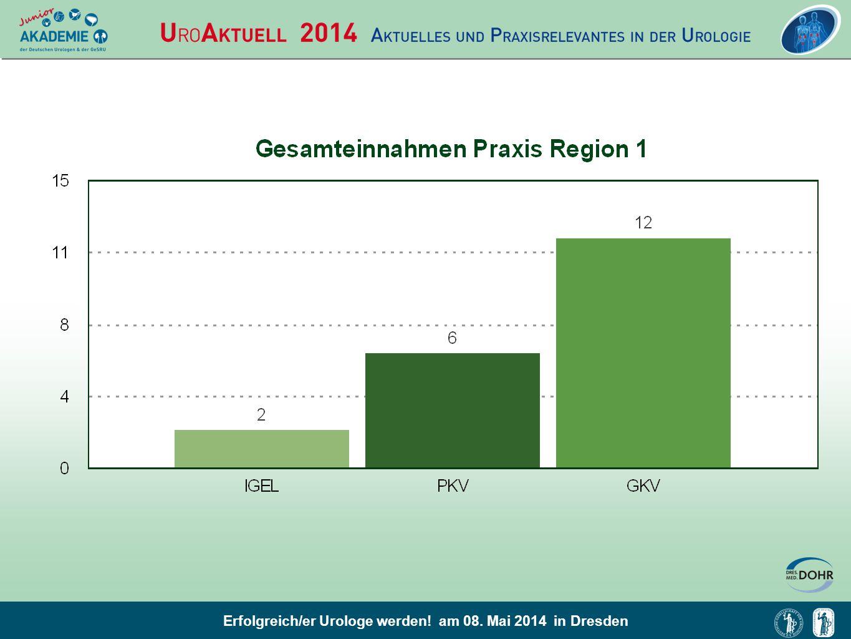 Erfolgreich/er Urologe werden! am 08. Mai 2014 in Dresden