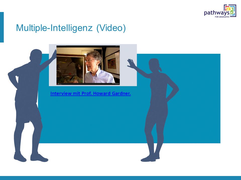 Multiple-Intelligenz (Video) Interview mit Prof. Howard Gardner.
