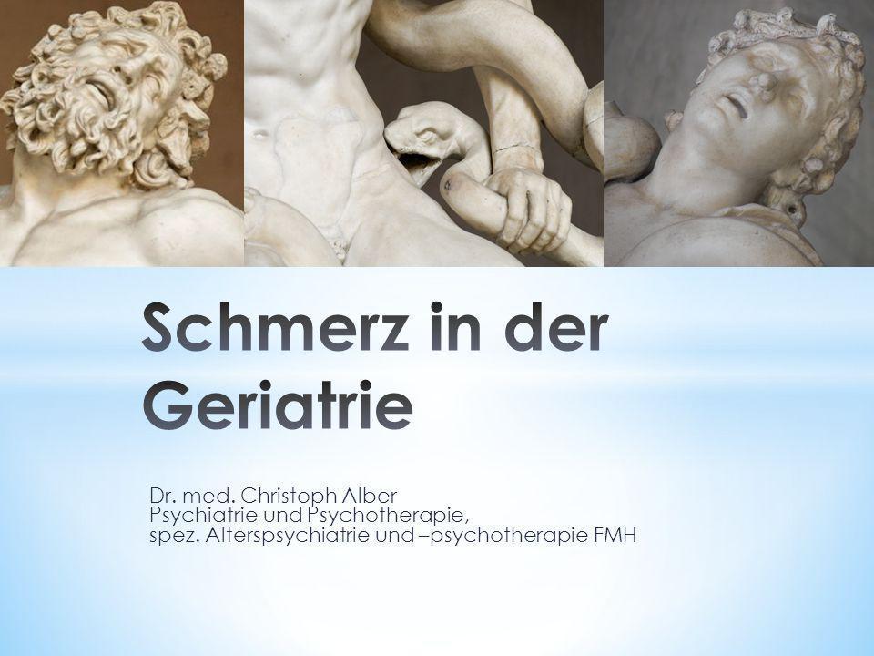 Dr. med. Christoph Alber Psychiatrie und Psychotherapie, spez. Alterspsychiatrie und –psychotherapie FMH