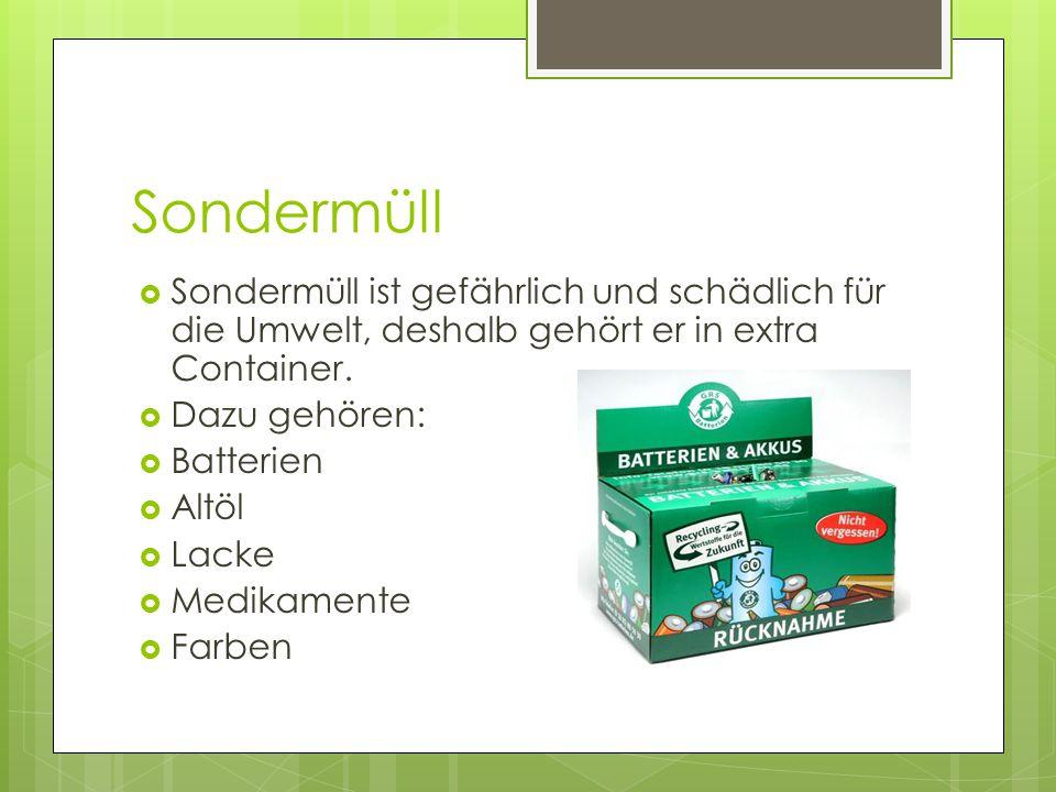  Die Menschen in Deutschland, Österreich und in der Schweiz leben umweltbewusst.