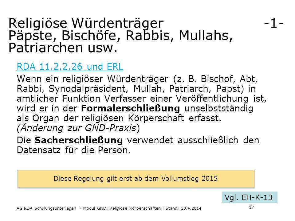 Religiöse Würdenträger -1- Päpste, Bischöfe, Rabbis, Mullahs, Patriarchen usw.