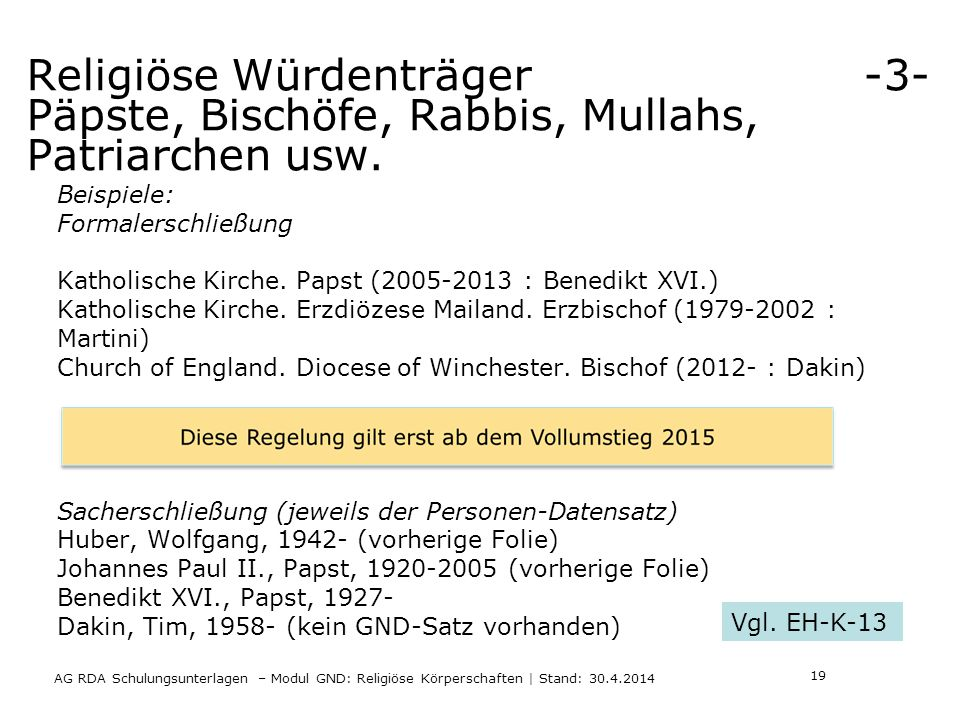 Religiöse Würdenträger -3- Päpste, Bischöfe, Rabbis, Mullahs, Patriarchen usw.