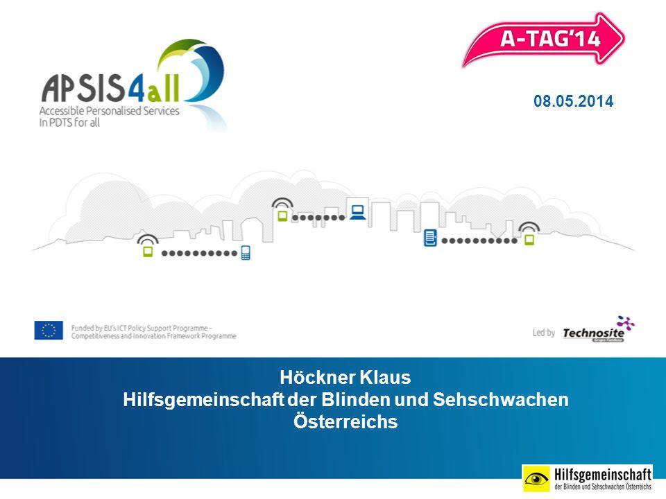 Höckner Klaus Hilfsgemeinschaft der Blinden und Sehschwachen Österreichs 08.05.2014