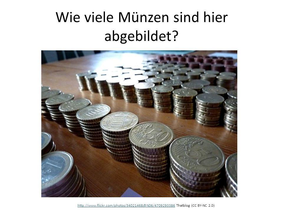 Wie viele Münzen sind hier abgebildet? http://www.flickr.com/photos/34021468@N06/4709293386http://www.flickr.com/photos/34021468@N06/4709293386 Thatbl