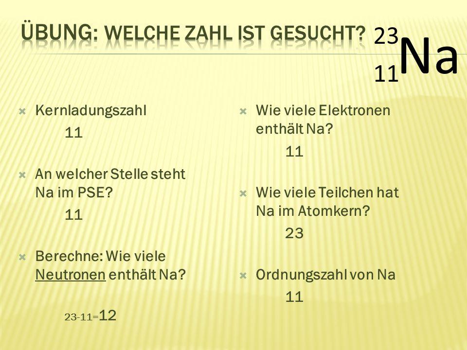  Massenzahl 27  Wieviel mal so schwer wie H.27  Berechne: Wie viele Neutronen enthält Al.