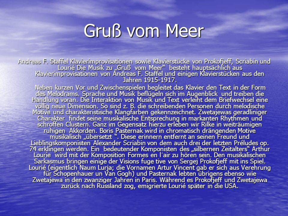 Gruß vom Meer Gruß vom Meer Andreas F.