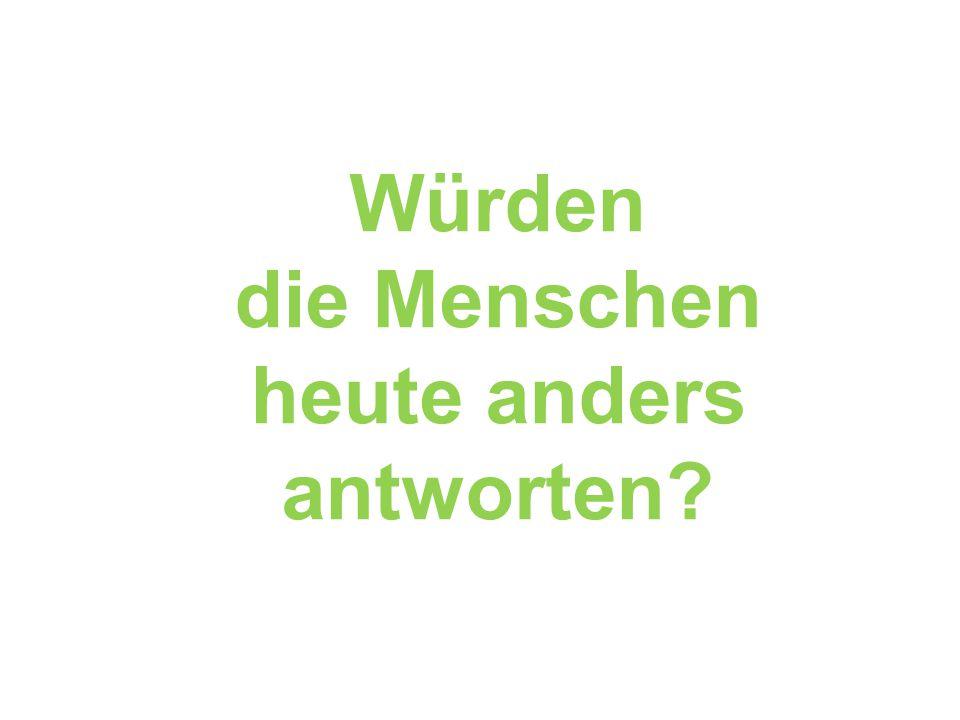 Was denkt Deutschland? Ergebnisse einer Umfrage in Deutschland 2001/2002 für den Arbeitskreis Auswahlverfahren Endlagerstandorte (AkEnd) Bild: AkEnd 2