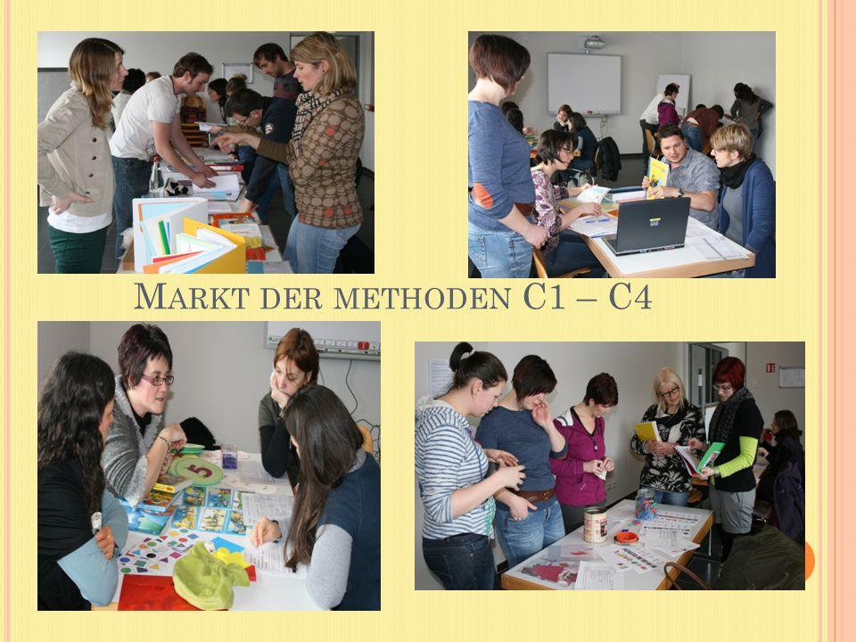 M ARKT DER METHODEN C1 – C4