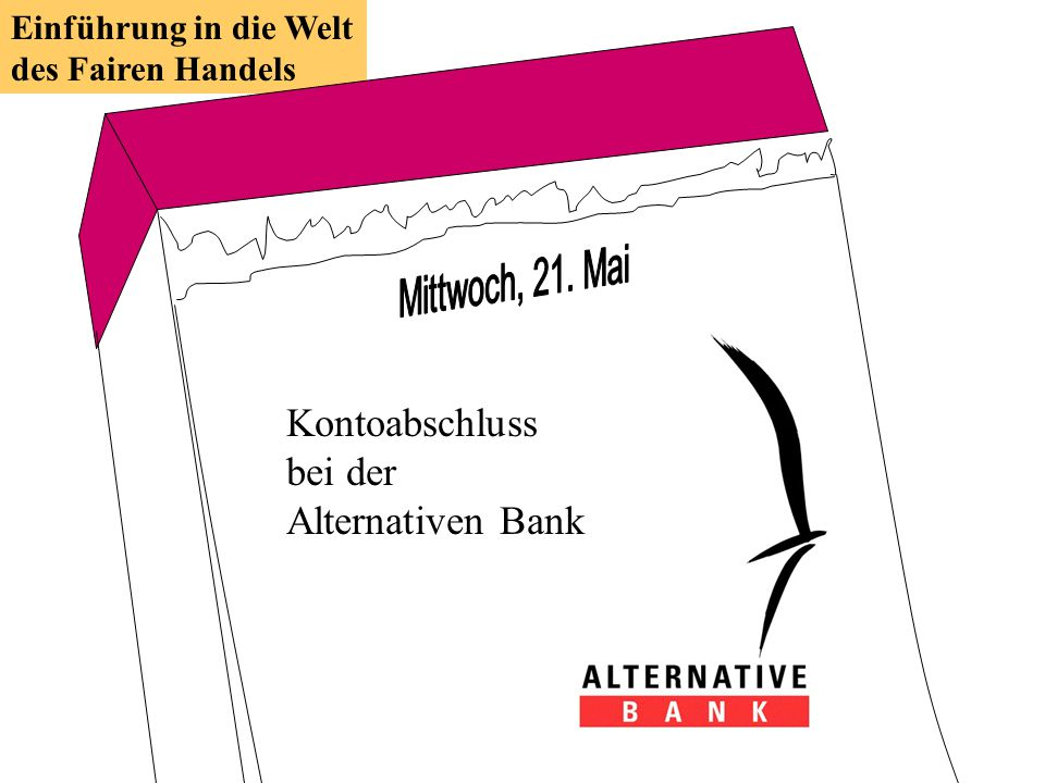 Kontoabschluss bei der Alternativen Bank