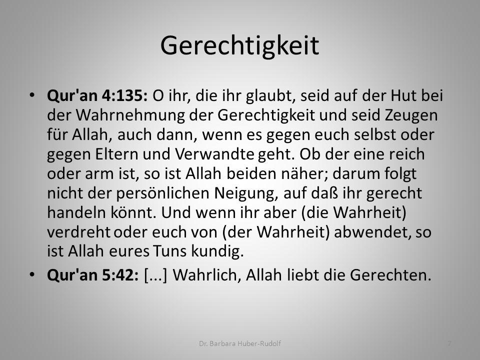 Qur an 2:155-157: Und gewiss werden Wir euch prüfen durch etwas Angst, Hunger und Minderung an Besitz, Menschenleben und Früchten.