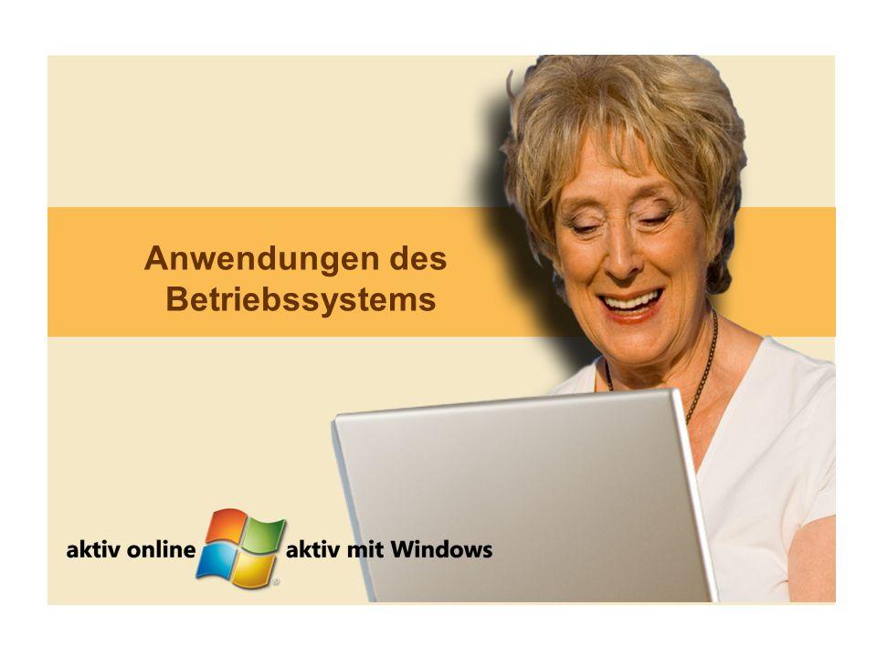 18 Anwendungen des Betriebssystems