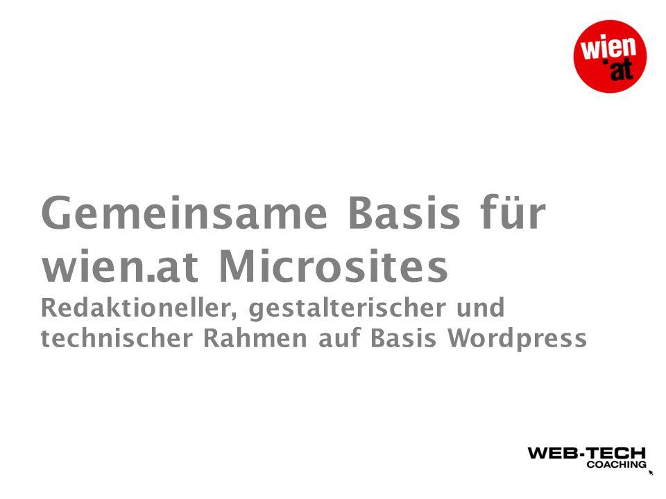 Warum Wordpress.