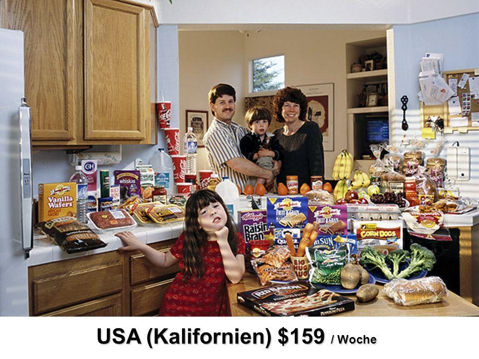 USA (Kalifornien) $159 / Woche