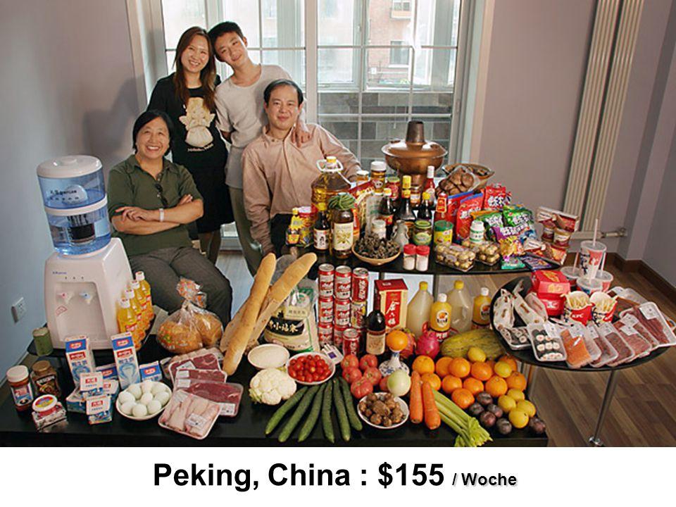 / Woche Peking, China : $155 / Woche