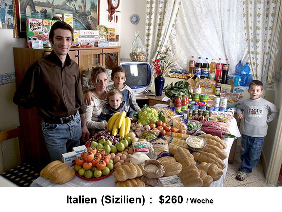 / Woche Italien (Sizilien) : $260 / Woche