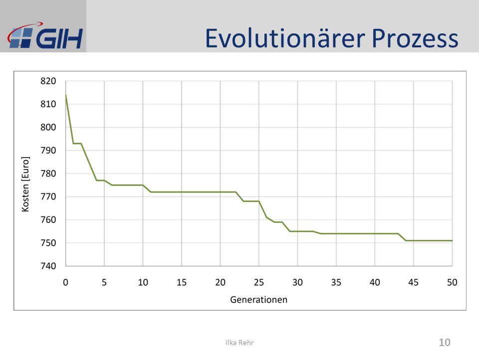 Evolutionärer Prozess 10 Ilka Rehr