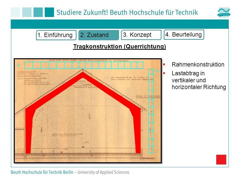 Tragkonstruktion (Querrichtung) 1.Einführung2. Zustand 3.