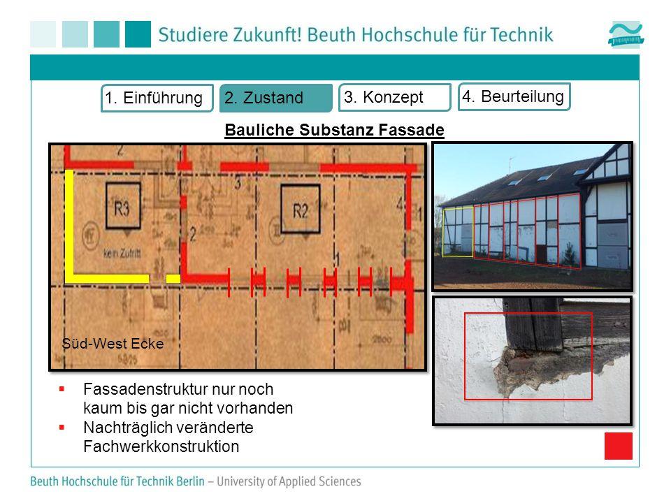 Süd-West Ecke Bauliche Substanz Fassade 1.Einführung2.