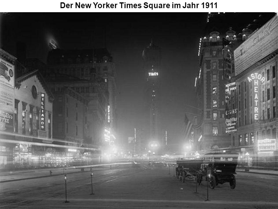Der New Yorker Times Square im Jahr 1911