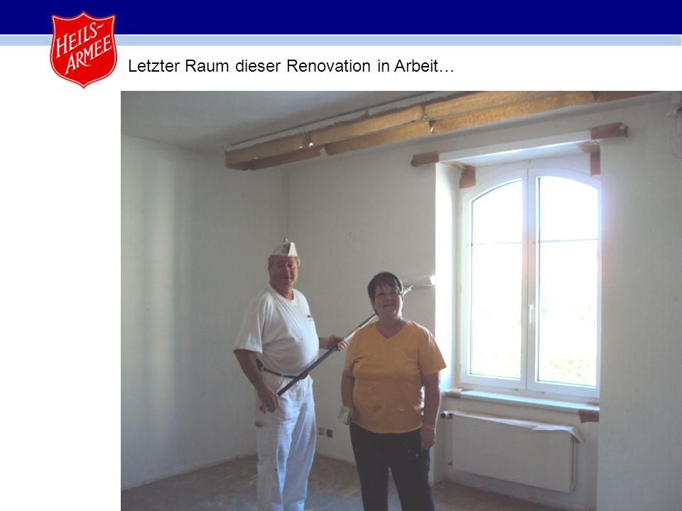 10 Letzter Raum dieser Renovation in Arbeit…