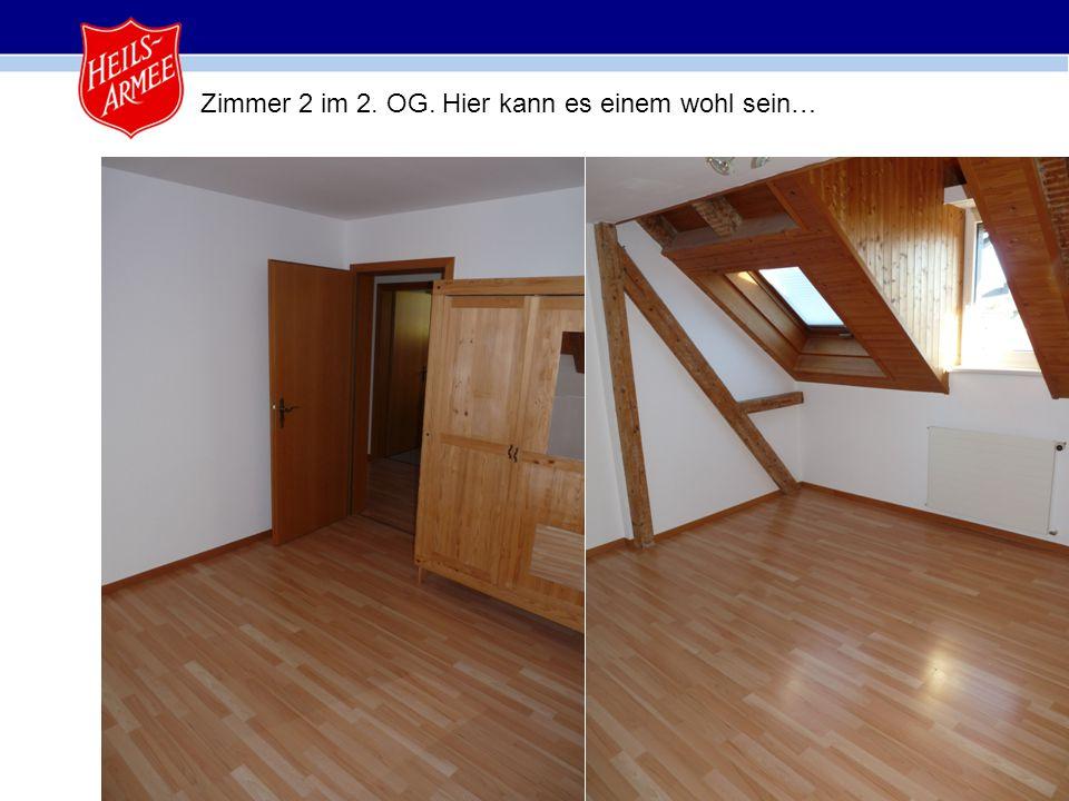 18 Zimmer 2 im 2. OG. Hier kann es einem wohl sein…